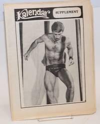 Kalendar vol. 3, issue G21A, October 30, 1974 (supplement - Halloween schedule!)