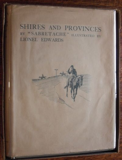 Shires And Provinces (in Dustjacket And Publisheru0027s Original Box) London:  Eyre U0026 Spottiswoode Ltd, 1926. Decorative Cloth. Collectible; Fine/Very  Good.