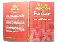 image of Social Function in Psychiatry:  The Hidden Axis of Classification Exposed