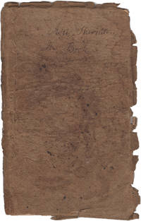 ASA SHERMAN, HIS BOOK - A 1790 Ciphering Book