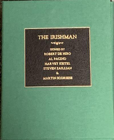 The iconic screenplay by Oscar-winning writer Steven Zaillian. Shooting script for THE IRISHMAN sign...
