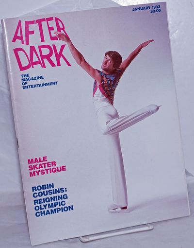 New York: After Dark, 1983. Magazine. 82p. includes covers, 8.5x11 inches, entertainment news, revie...