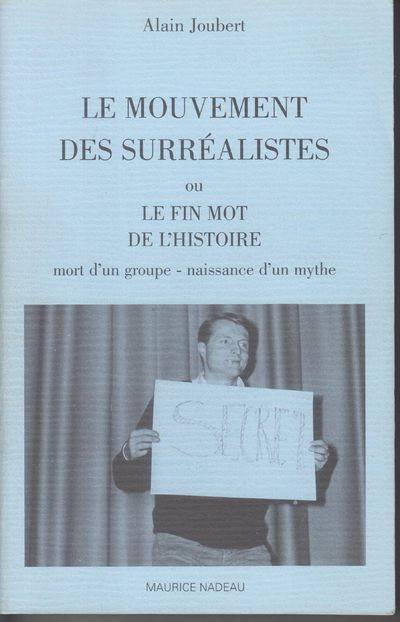 n.p.: Maurice Nadeau. 2001. First Edition; First Printing. Softcover. Wraps, near fine but for light...