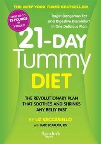 21-Day Tummy Diet : The Revolutionary Plan That Soothes and Shrinks Any Belly Fast by Liz Vaccariello - Paperback - 2014 - from ThriftBooks and Biblio.com