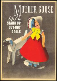 MOTHER GOOSE LIFE-LIKE STAND UP CUT-OUT DOLLS