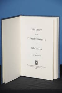 HISTORY OF THE PUBLIC DOMAIN OF GEORGIA