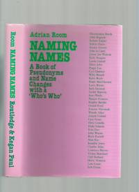 Naming Names; a Book of Preudonyms and Name Changes with a Who's Who