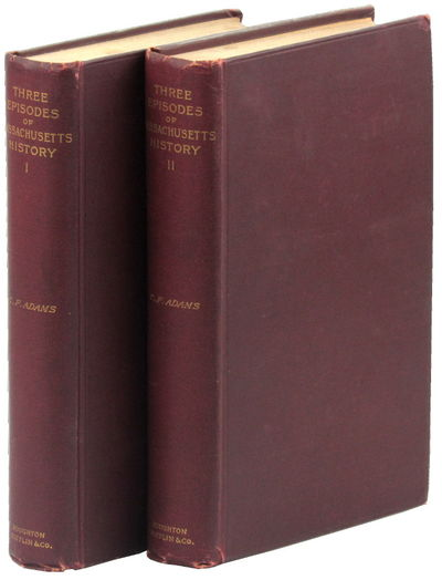 Boston: Houghton Mifflin, 1893. Hardcover. Very good. Third Edition. vi, 532pp, map tipped in at fro...