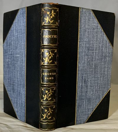 New York: H.M. Caldwell, Nd. Hardcover. Three quarter navy morocco. Teg. Near fine. 295 pages. 16.5 ...
