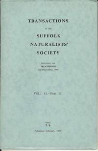 Transactions of the Suffolk Naturalists' Society Vol. 13 - Part 5