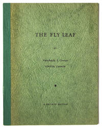 The Fly Leaf [Cover title]