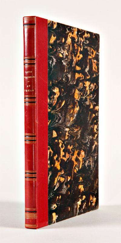 Paris: Librairie Phalansterienne, 1854. ,190,,191-194,4pp. plus two folding maps. Antique-style half...