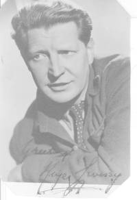 image of Vintage postcard photo signed and inscribed (Roger, 1906-1976, Actor)