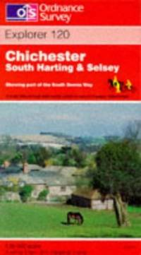 image of Chichester, South Harting and Selsey (Explorer Maps)