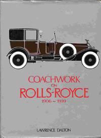 Coachwork On Rolls-Royce, 1906-1939.
