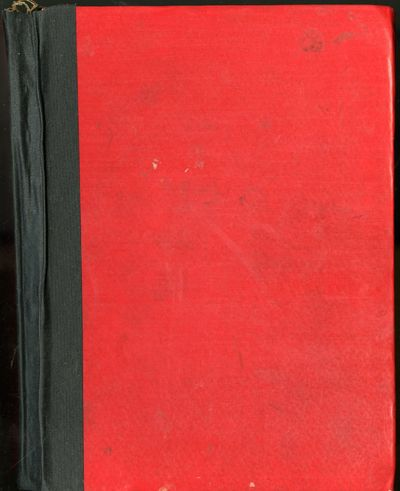 1950. Hardcover. Very Good Condition. Red boards, tape reinforcement to spine. Recipes in a single h...