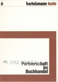 Gütersloh: Bertelsmann, 1976. paper wrappers. Bookselling. small 8vo. paper wrappers. 60 pages. A g...