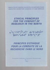 Ethical Principles for the Conduct of Research in the North