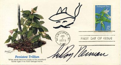 New York, NY: National Audubon Society, 1979. Autograph. Very good+ condition. Unbound. Signed by Au...