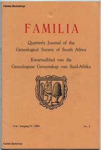 FAMILIA. 1969 No.2 by  C. (Ed) Pama - Paperback - from Fables Bookshop and Biblio.com