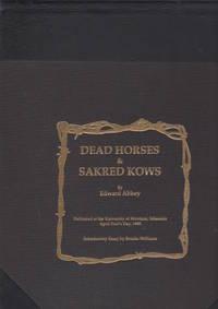 Dead Horses & Sakred Kows