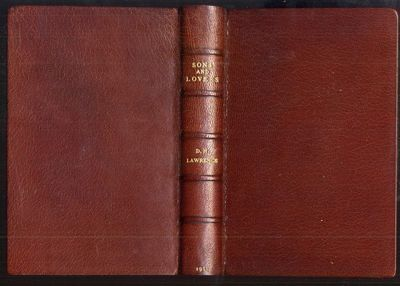 London: Duckworth, 1913. First Edition. Hardcover (rebound in leather). Very Good Condition. First e...