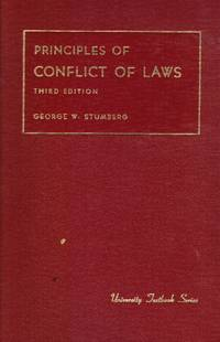 image of Principles of conflict of laws