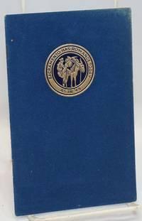 39th Annual California State Council Knights of Columbus; Hotel Senator, General Headquarters, May 17-18-19-20-21, 1941, Sacramento, California