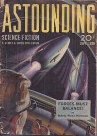 image of ASTOUNDING Science Fiction: September, Sept. 1939