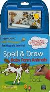 image of Little Bee Learners: Spell_Draw - Baby Farm Animals (Magnix Little Bee Learners: Spell_Draw)
