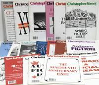 [MAGAZINES] [LGBTQ] CHRISTOPHER STREET. 19 ISSUES