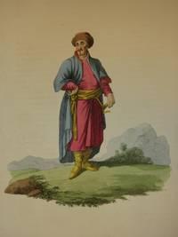 The Costume of the Russian Empire 1811. Original Hand Coloured Engraving by John Dadley (after Johann Gottlieb Georgi). Plate XVIII: A Tartar of Kazan [Tatar/Tatars/Tatarstan]