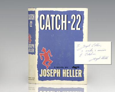 New York: Simon & Schuster, 1961. First edition of Heller's classic first book. Octavo, original blu...