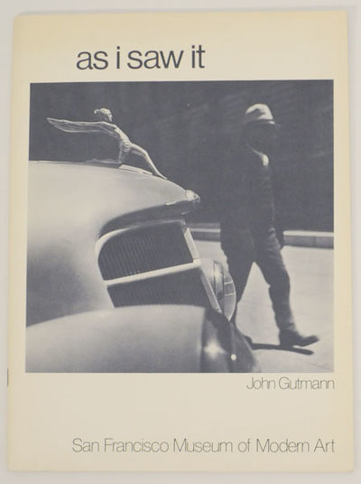 San Francisco, CA: San Francisco Museum of Modern Art, 1976. First edition. Softcover. 32 pages. Exh...