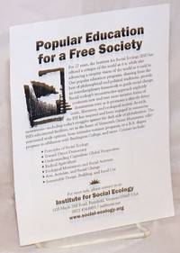 image of Popular Education for a Free Society