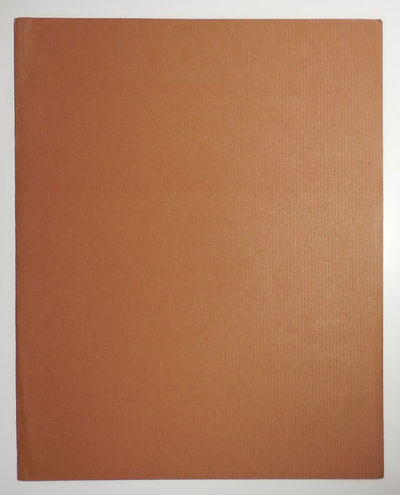 No Place : Wild Hawthorn Press, 1993. First edition. Loose Sheets. Very Good. Simple unprinted brown...