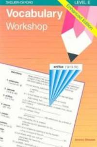 image of Vocabulary Workshop: Enhanced Edition Level E