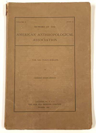 Lancaster, PA: The New Era Printing Company, 1908. 1st Printing. Original publisher's printed brown ...