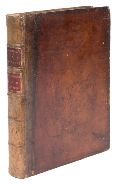 1783. The Complement of Sir W. Blackstone's Commentaries