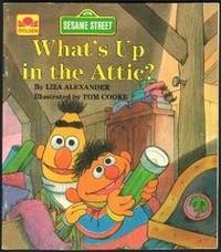 image of Whats Up in the Attic (Little Golden Book) Sesame Street