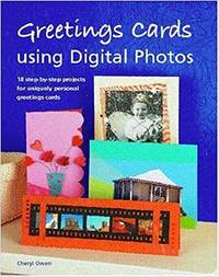 image of Greeting cards using Digital Photos