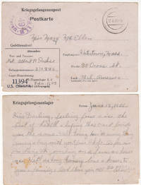 World War II U.S. Prisoner of War Mail from Germany