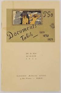 Exposition Gaugin: Aquarelles, Monotypes, Dessins