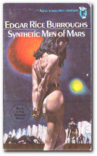 Synthetic Men Of Mars by  Edgar Rice Burroughs - Paperback - Reprint - 1972 - from Books in Bulgaria (SKU: 19907)