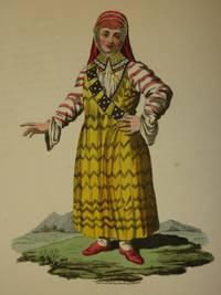 The Costume of the Russian Empire 1811. Original Hand Coloured Engraving by John Dadley (after Johann Gottlieb Georgi). Plate XXVIII: A Female Mestscheraik [Bashkir/Bashkiria/Bashkortostan]