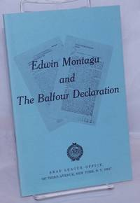 image of Edwin Montagu and the Balfour declaration
