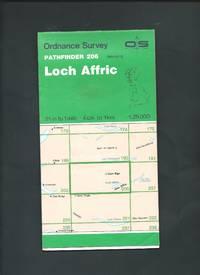 OS Pathfinder Map 206 Loch Affric 1 : 25000 - ( NH 02/12 ) 4cm to 1 km