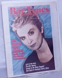 image of San Francisco Bay Times: the gay/lesbian/bi/trans newspaper_calendar of events for the Bay Area; [aka Coming Up!] vol. 15, #30, Nov. 17, 1994; The Mouth That Roared; Camille Paglia