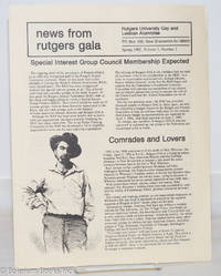 image of News from Rutgers GALA: vol. 3, #2, Spring, 1992