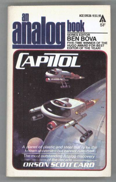 New York: Ace Books, 1979. Small octavo, pictorial wrappers. First edition. Ace Books 09136-9. Capit...